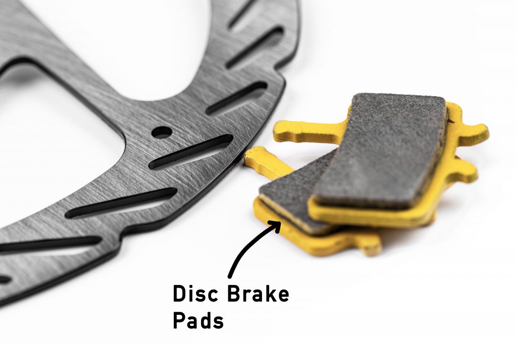 different types of disc brake pads