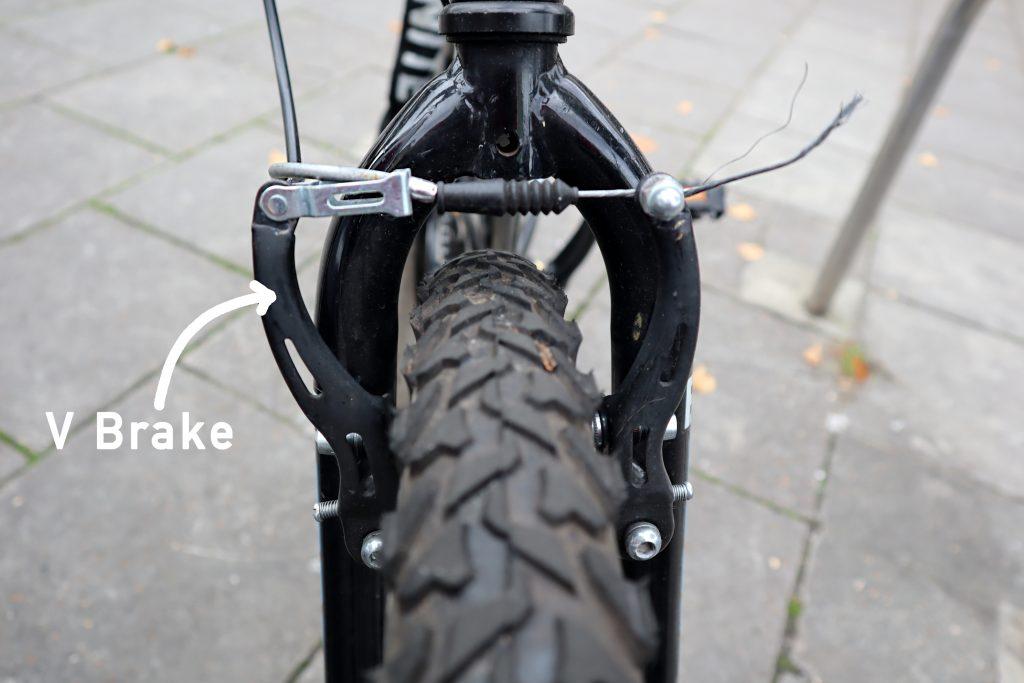 Bike v brakes explained